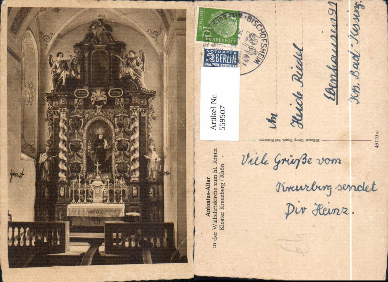 559507,Bischofsheim an der Rhön Kloster Kreuzberg Rhön Antonius-Altar günstig online kaufen