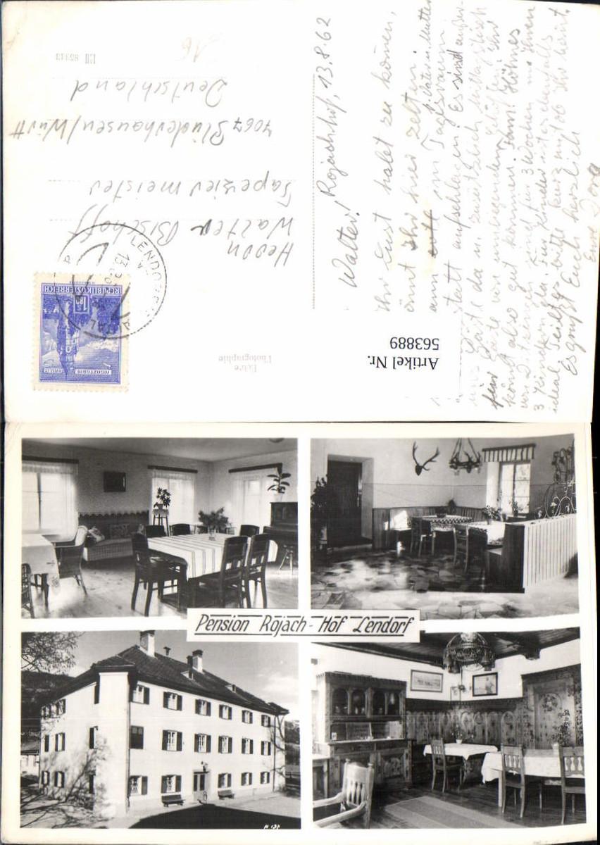 563889,Mehrbild Ak Pension Rojach Hof Lendorf Rojachhof Sankt Andrä günstig online kaufen
