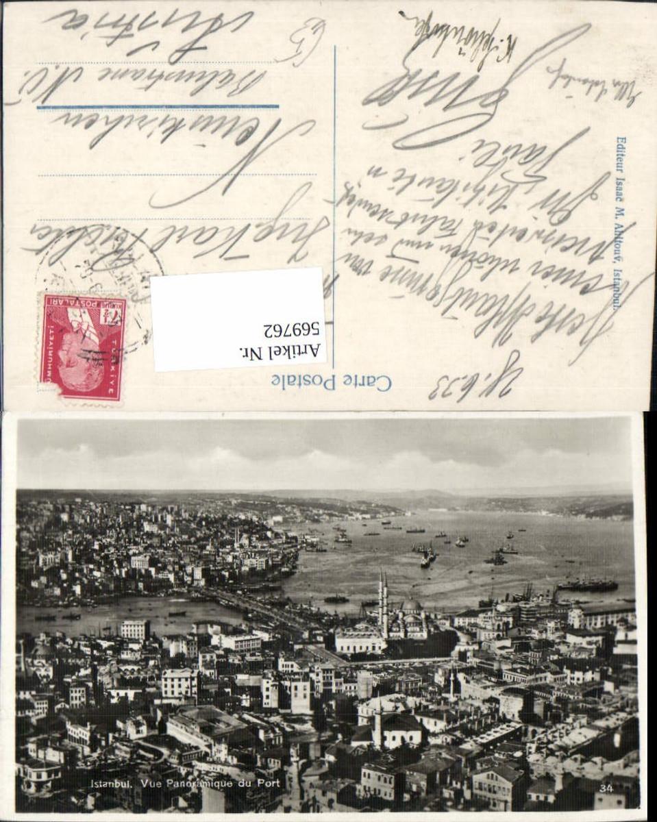 569762,Istanbul Vue Panoramique du Port Türkei günstig online kaufen