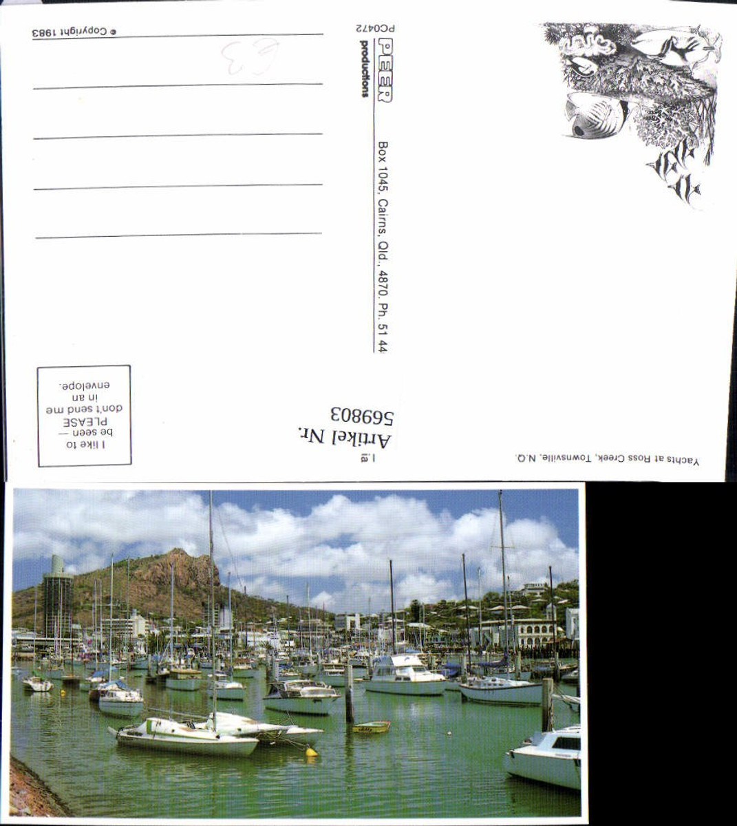 569803,Yachts at Ross Creek Townsville North Queensland Hafen Boote Australia günstig online kaufen