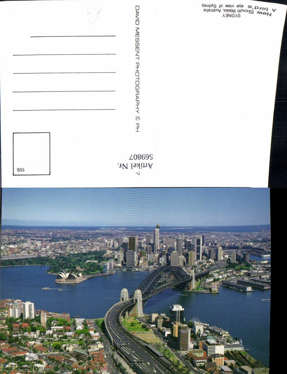 569807,Sydney New South Wales Australia  A birds eye view of Sydney günstig online kaufen