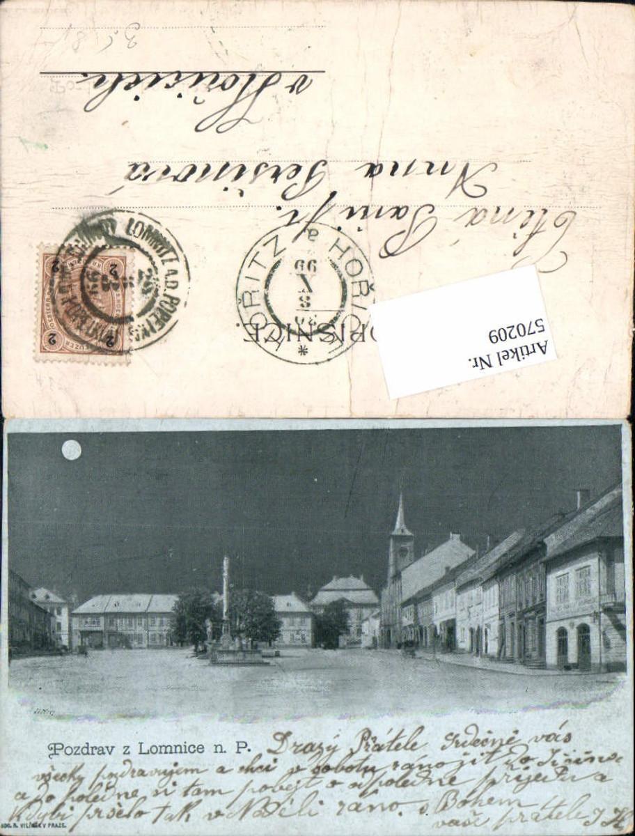 570209,Lithographie Pozdrav z Lomnice nad Popelkou Semily Liberec günstig online kaufen