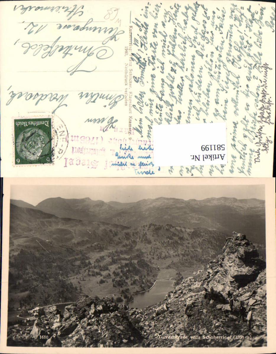 581199,Foto Ak Turracher See b. Schoberriegel b. Stadl-Predlitz günstig online kaufen
