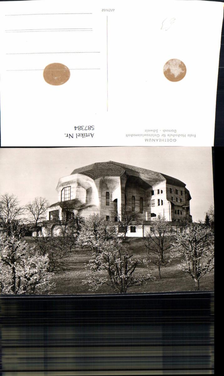 587384,Foto Ak Goetheanum Dornach Ansicht Switzerland günstig online kaufen