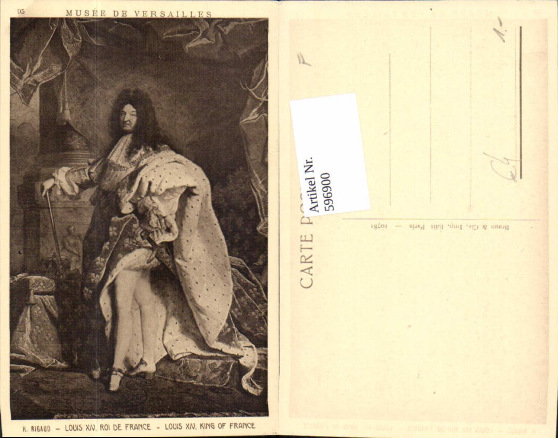 596900,Künstler Ak H. Rigaud Louis XIV König v. Frankreich France Adel Monarchie günstig online kaufen