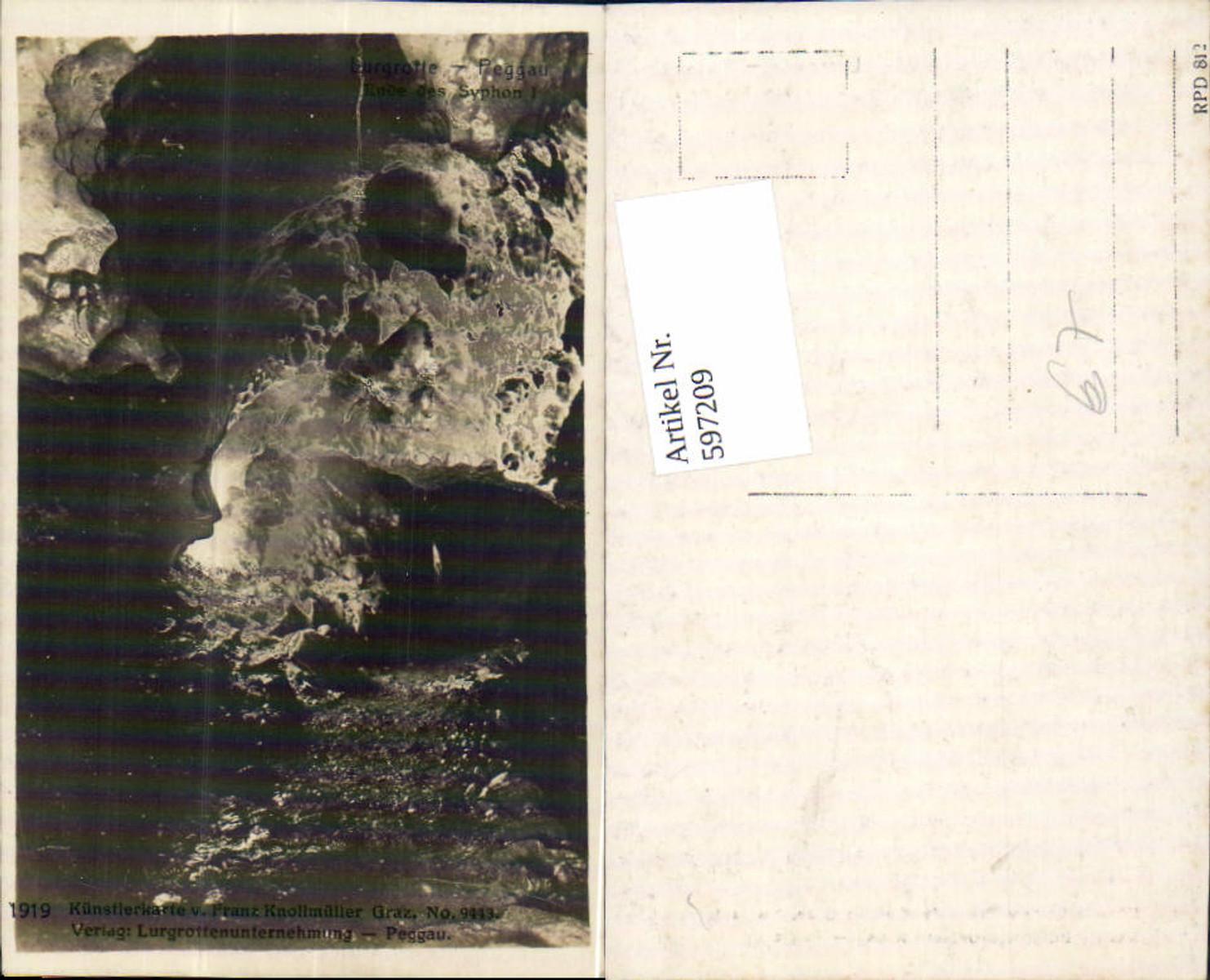 597209,Lurgrotte Grotte bei Semriach Peggau Tanneben  günstig online kaufen
