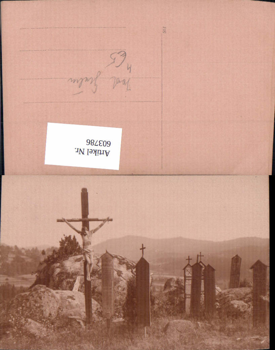 603786,Kreuz Flurkreuz Gräber Friedhof Tod Gräber Religion günstig online kaufen