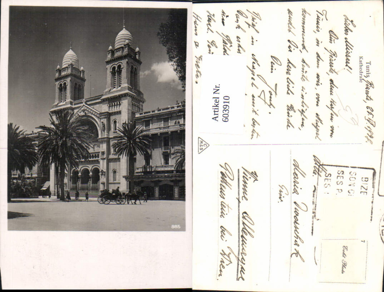603910,Foto Ak Tunis Kathedrale günstig online kaufen