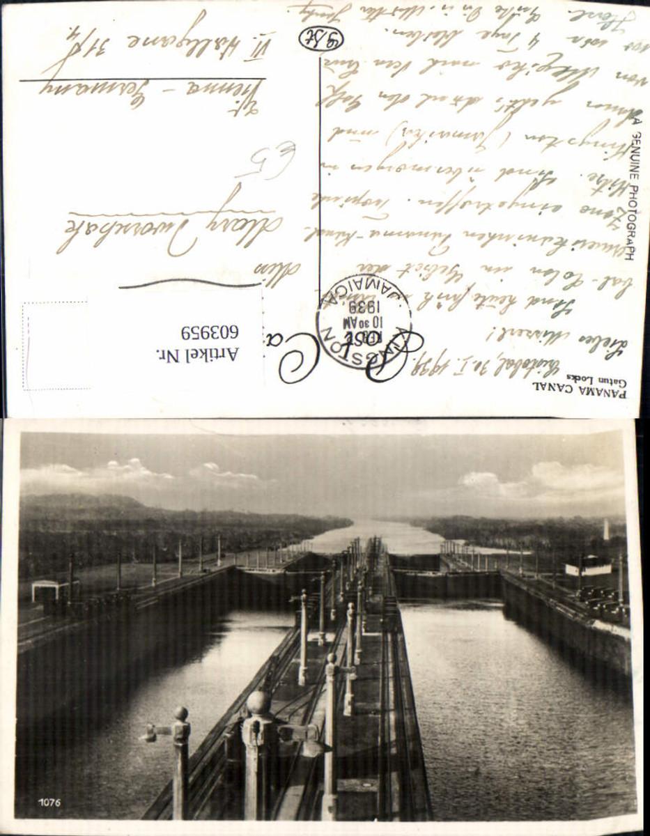 603959,Panama Canal Gatun Locks Schleuse Kanal günstig online kaufen