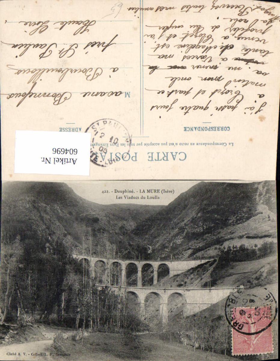 604696,Dauphine La Mure Isere Les Viaduc du Loulla Viadukt France günstig online kaufen