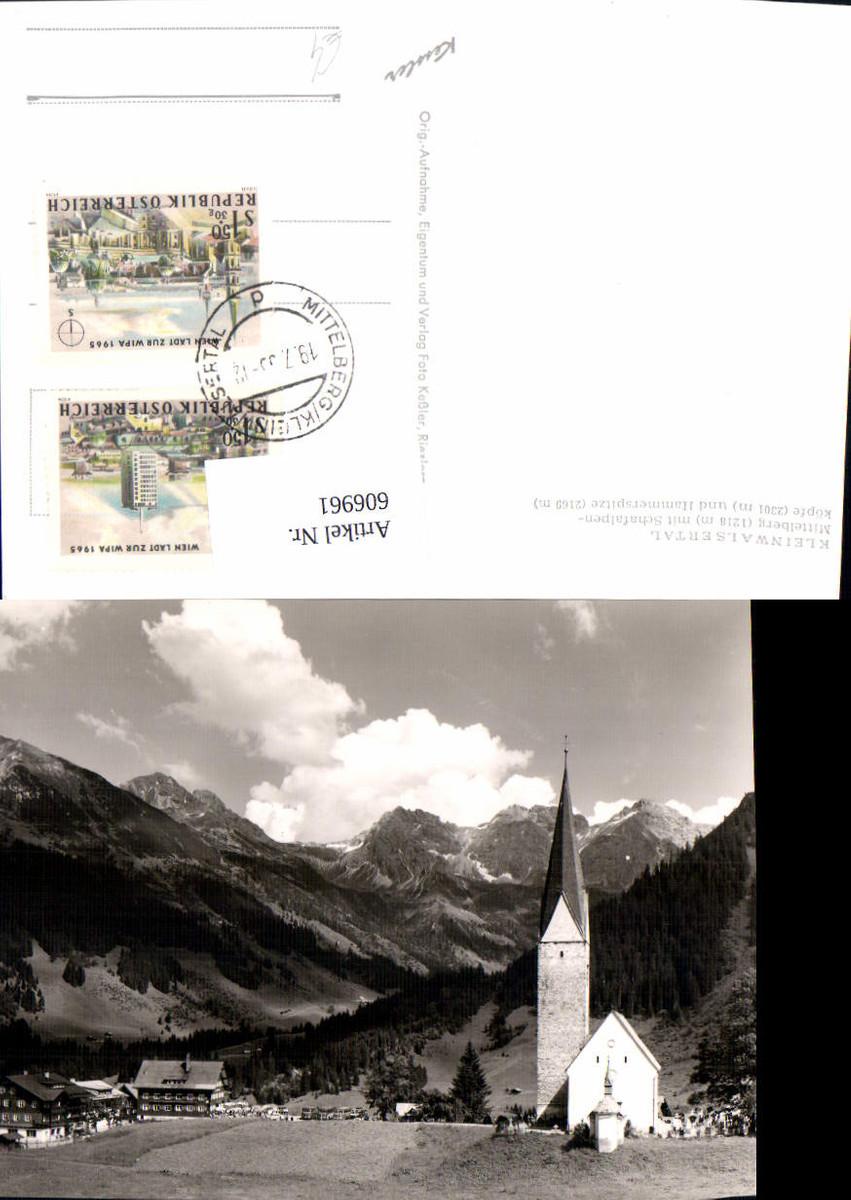 606961,Mittelberg m. Schafalpenköpfe u. Hammerspitze Kleinwalsertal günstig online kaufen