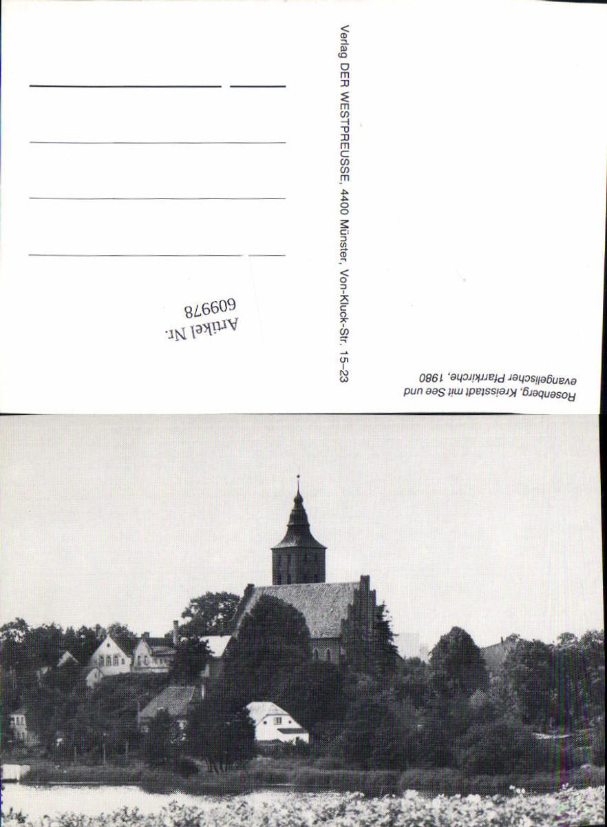 609978,Westpreußen Rosenberg Susz  günstig online kaufen