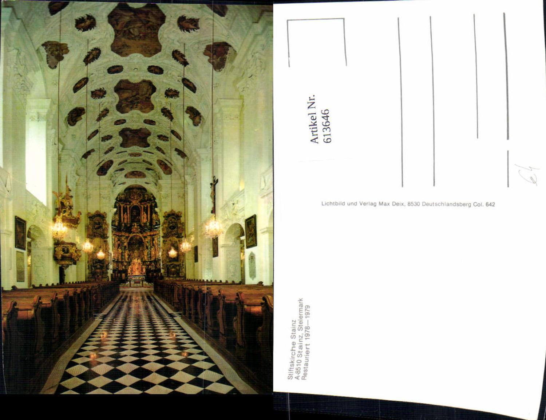 613646,Stainz Stiftskirche Kirche Ansicht Altar günstig online kaufen