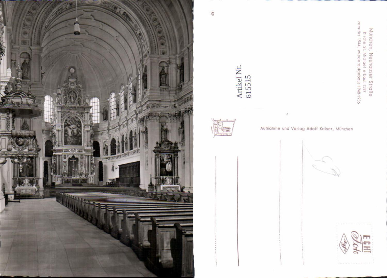 615515,München Altstadt Lehel Neuhauser Straße St. Michael Kirche  günstig online kaufen