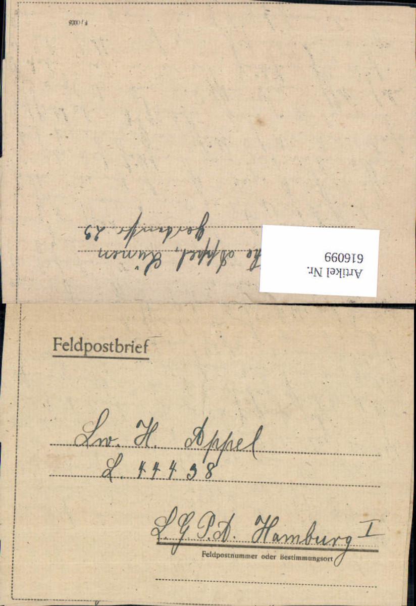 616099,WK 2 Feldpost Lünen n. Luftgaupostamt Hamburg 44438 günstig online kaufen