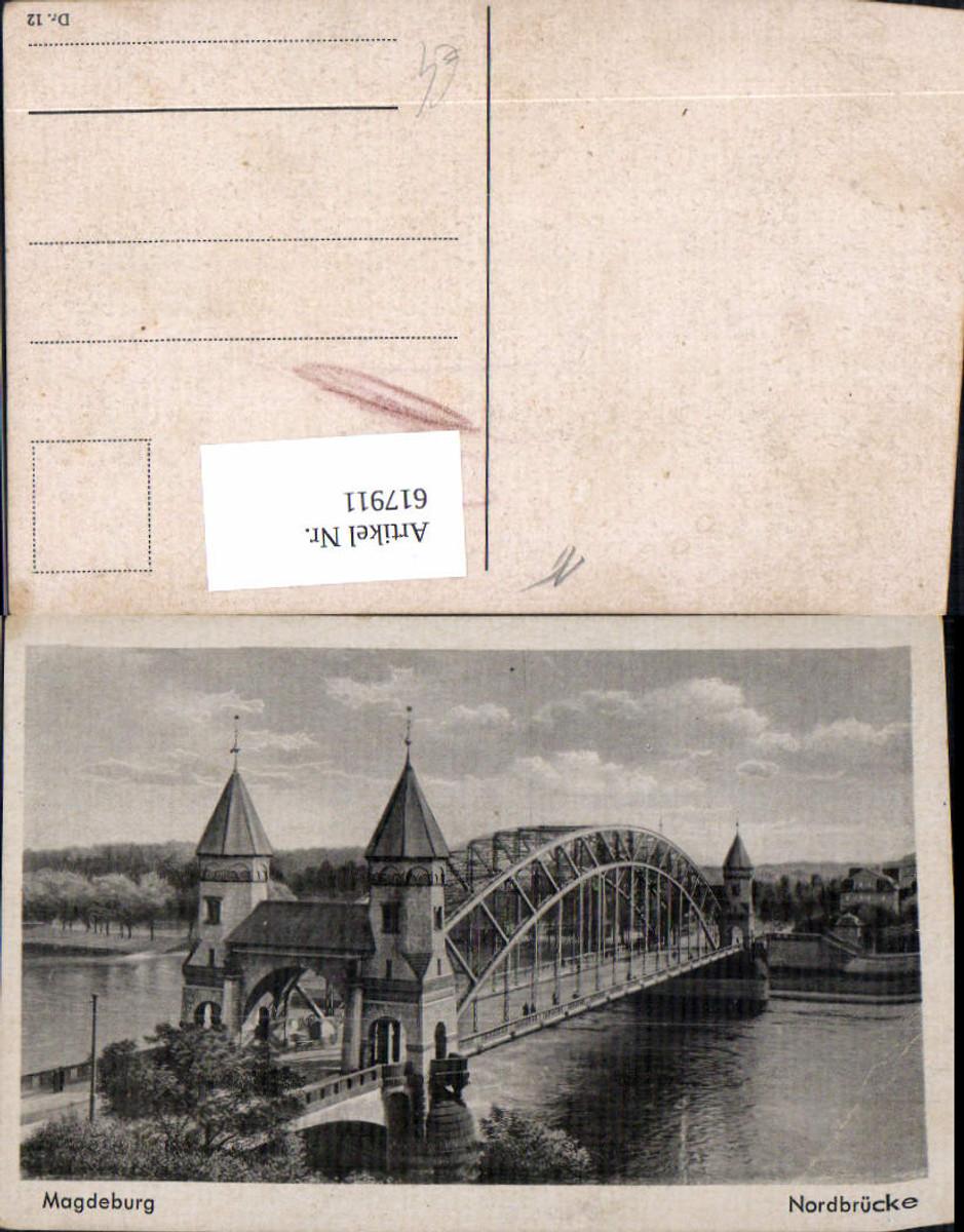 617911,Magdeburg Nordbrücke Brücke günstig online kaufen