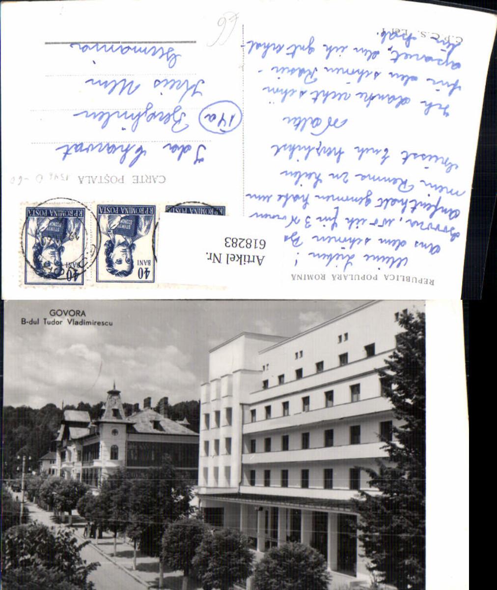 618283,Foto Ak Baile Govora Govora B-dul Tudor Vladimirescu Romania günstig online kaufen