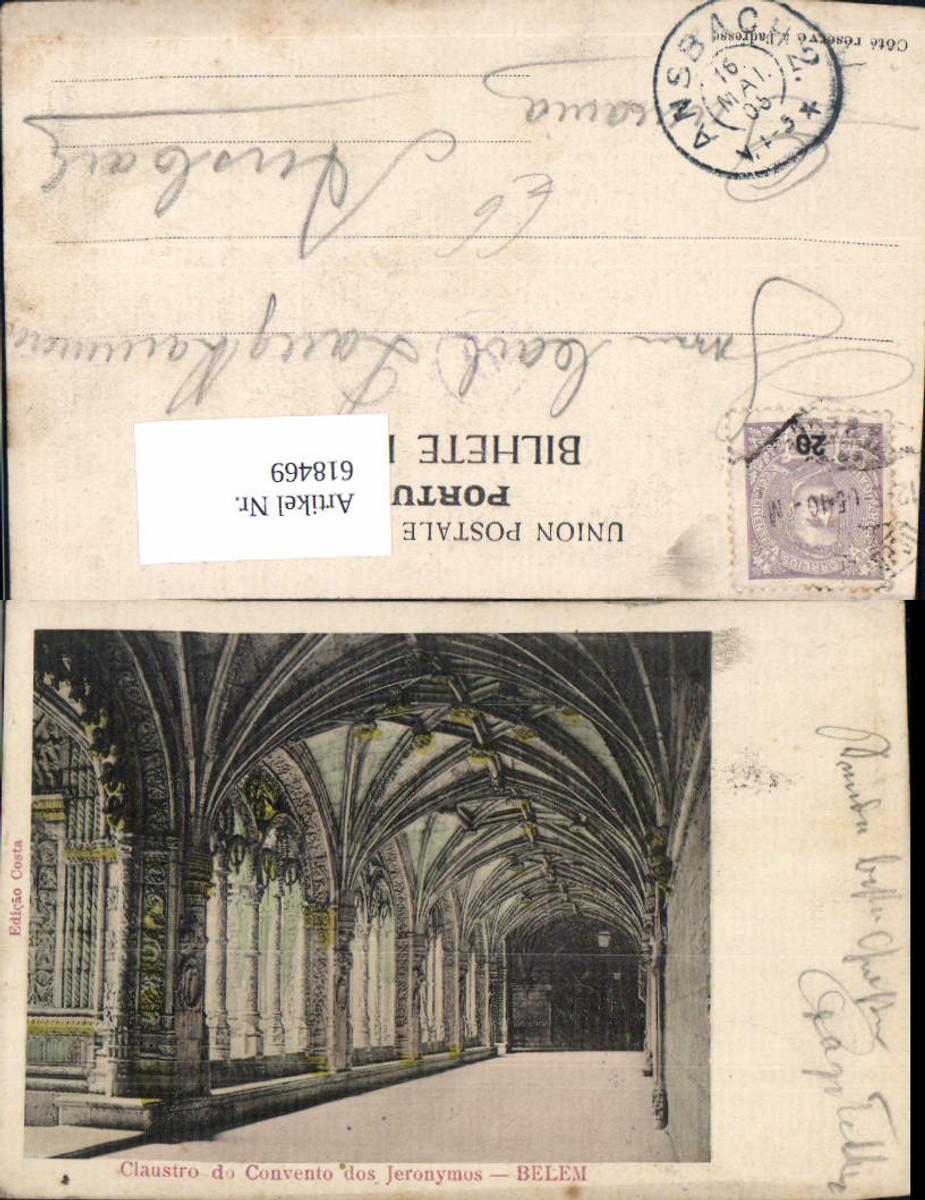 618469,Lisboa Lissabon Belem Claustro do Convento dos Jeronymos Portugal günstig online kaufen