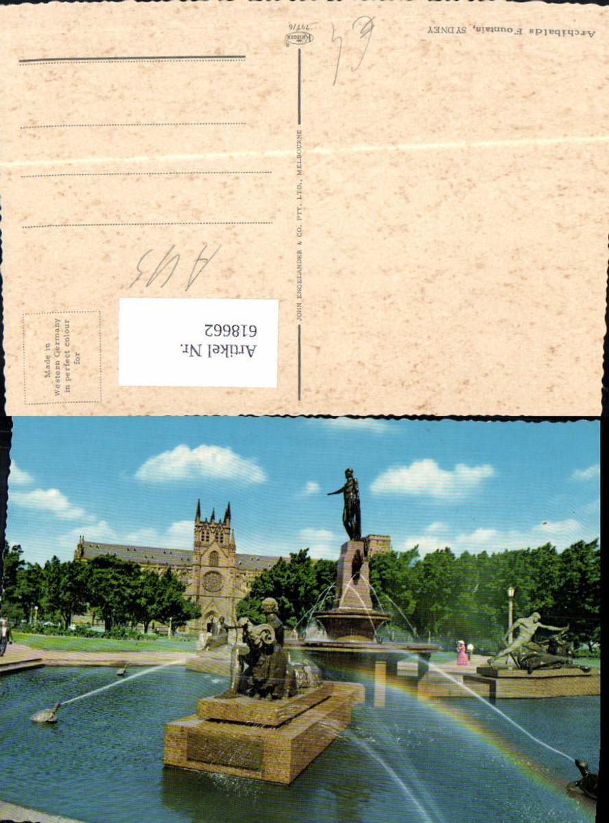618662,Sydney Archibalds Fountain Springbrunnen Brunnen Australia günstig online kaufen