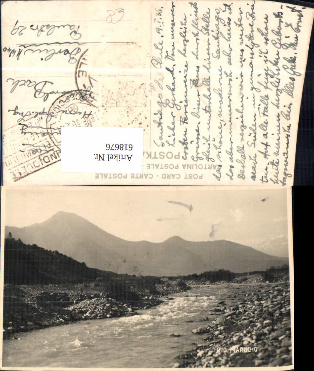 618676,Foto Ak Rio Mapocho Santiago de Chile Chile günstig online kaufen