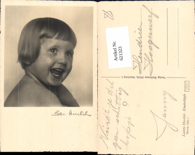 621323,tolle Foto AK Lotte Herrlich Kinderköpfe Serie 1002/1  günstig online kaufen