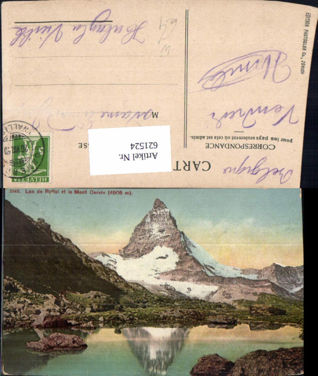 621524,Zermatt Lao de Ryffel et le Mont Cervin Matterhorn günstig online kaufen