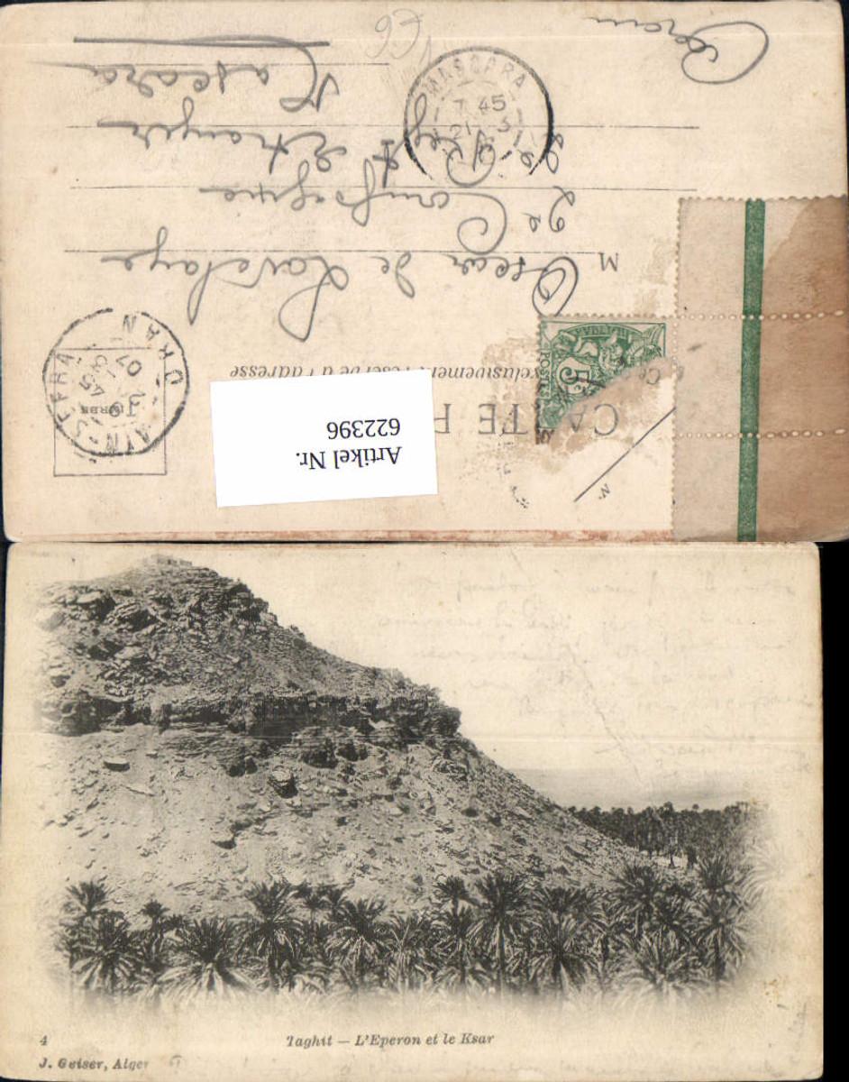 622396,Taghit L Eperon et le Ksar Algeria pub J. Geiser günstig online kaufen