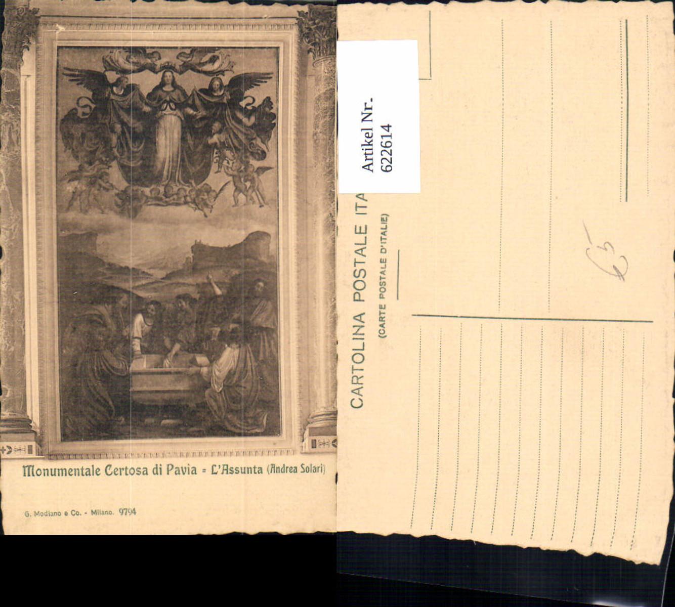 622614,Andrea Solari Monumentale Certosa di Pavia L Assunta Religion günstig online kaufen