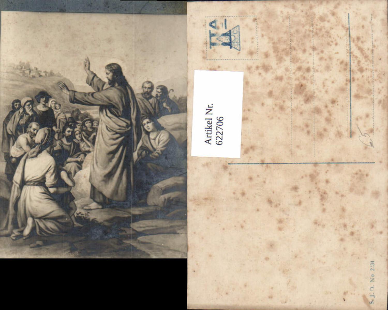 622706,Künstler Ak Jesus m. Jünger Wort Gottes Religion günstig online kaufen