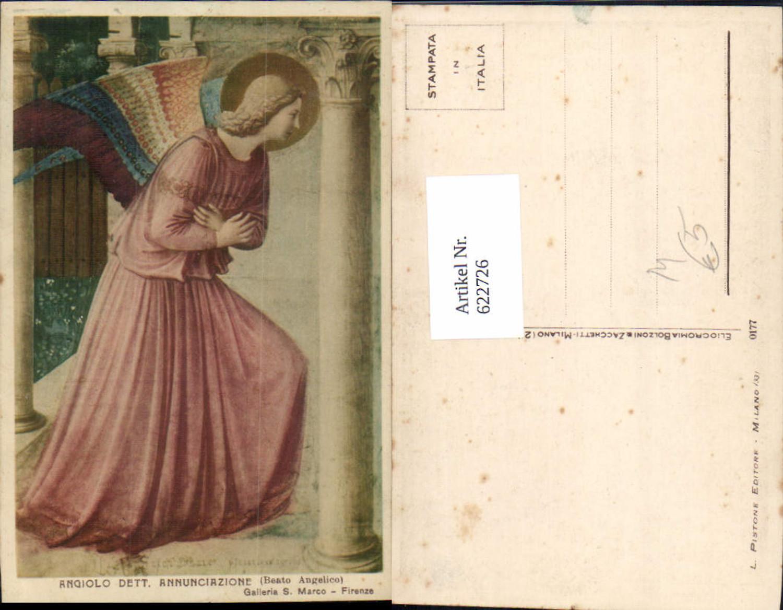 622726,Künstler Ak Beato Angelico Angiolo dett Annunciazione Engel Religion günstig online kaufen