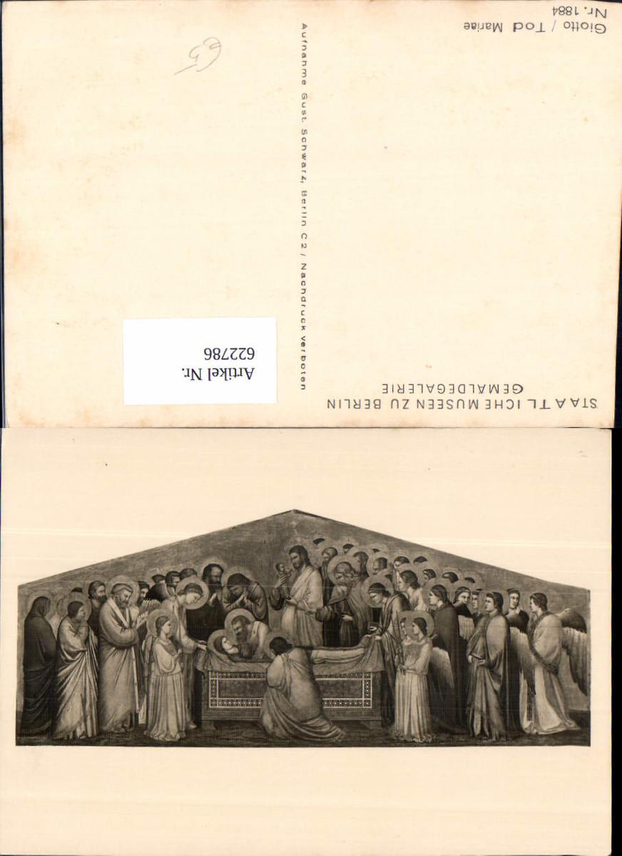 622786,Künstler Ak Giotto Tod Mariae Religion günstig online kaufen