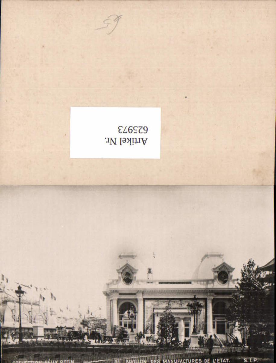 625973,Collection Felix Potin Paris No. 31 Pavillon de manufactures etat günstig online kaufen
