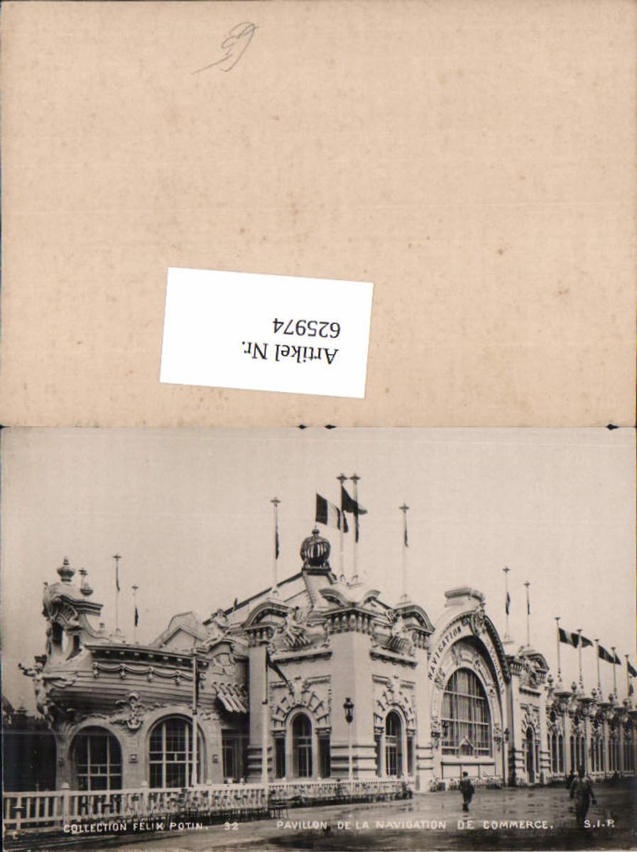 625974,Collection Felix Potin Paris No. 32 Pavillon de la navigation de Commerce günstig online kaufen