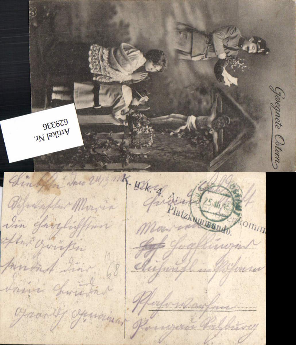629336,K.K. Feldpost 4. Armee Etappenkommando Platzkommando Marterl Soldat Patriotik günstig online kaufen