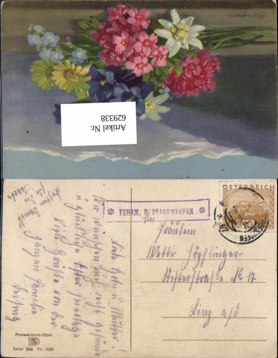 629338,seltener Postablagestempel Peham Pfarrwerfen Bahnpost Zug 67 Bruck an der Mur Bischofshofen günstig online kaufen