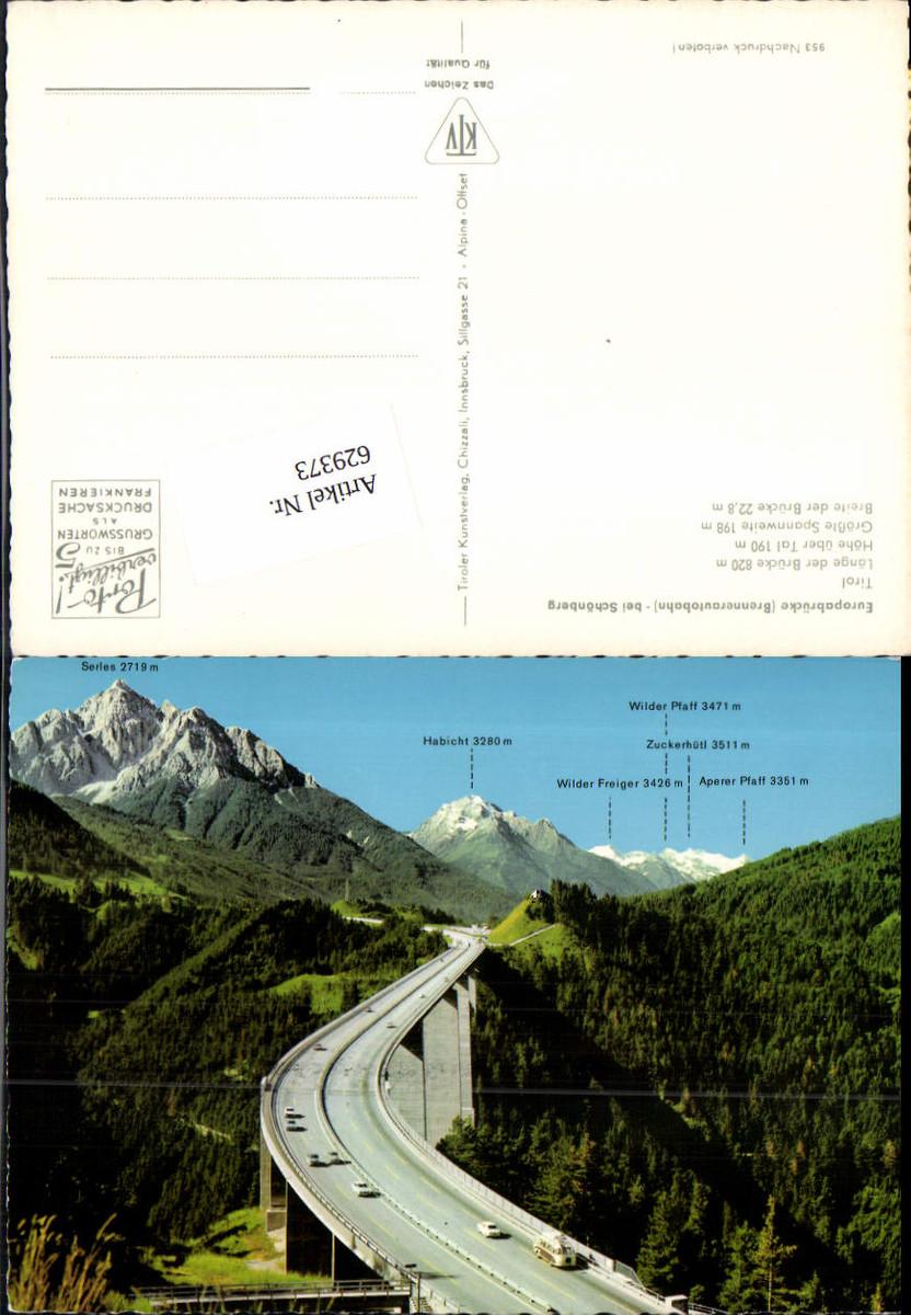629373,Schönberg Europabrücke Brücke Fulpmes Tirol günstig online kaufen