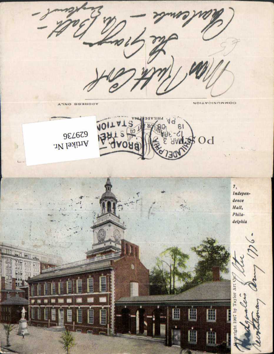 629736,Independence Hall Philadelphia Pennsylvania günstig online kaufen