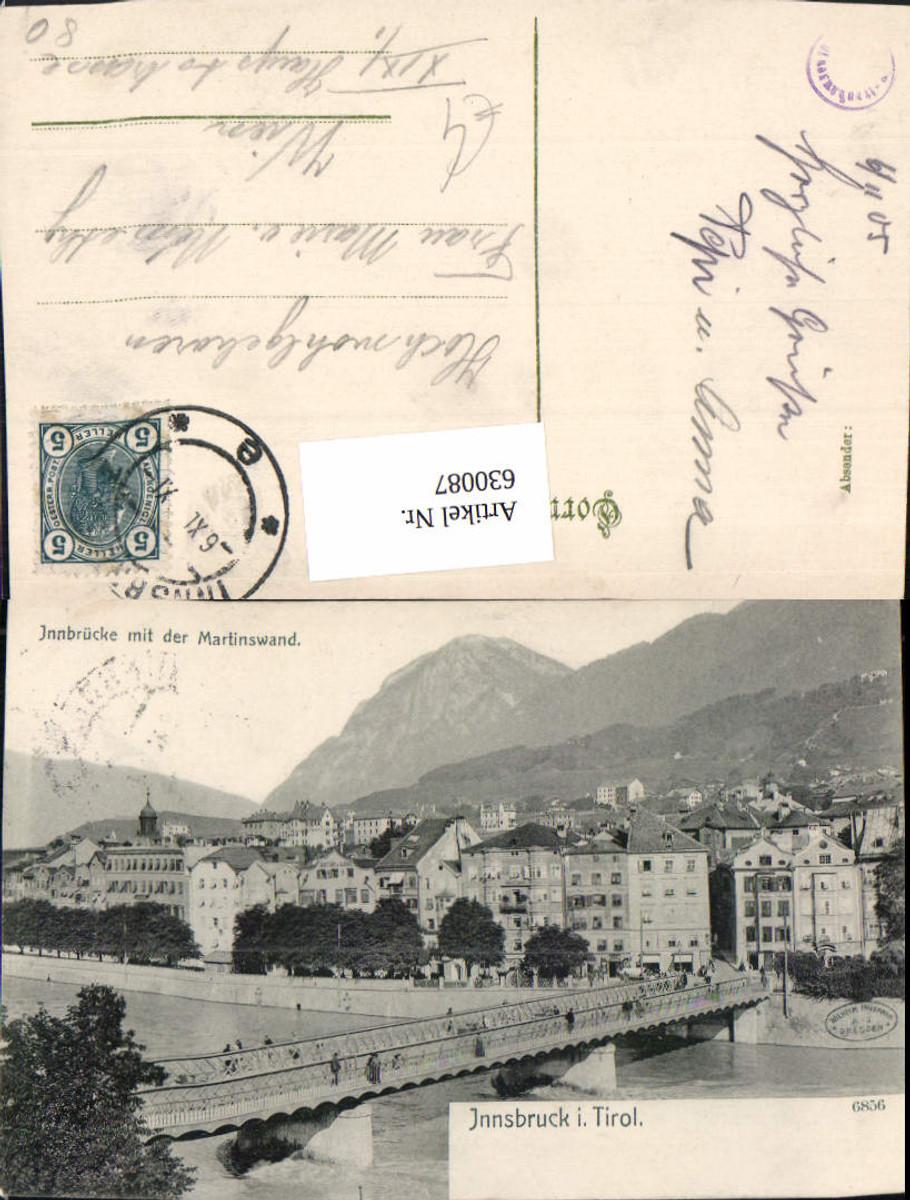 630087,Innsbruck Innbrücke m. Martinswand Brücke günstig online kaufen