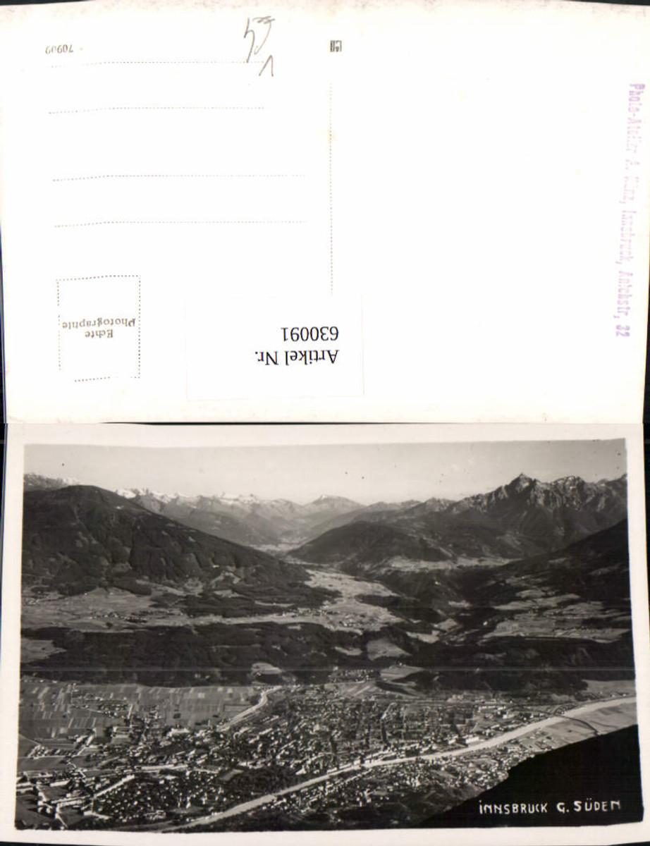 630091,Foto Ak Innsbruck geg. Süden pub A. Künz günstig online kaufen