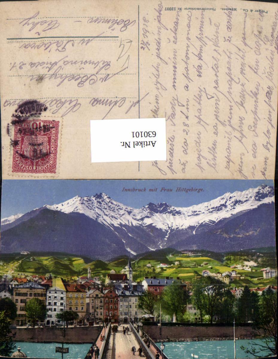 630101,Innsbruck m. Frau Hittgebirge pub Purger Co 13987 günstig online kaufen
