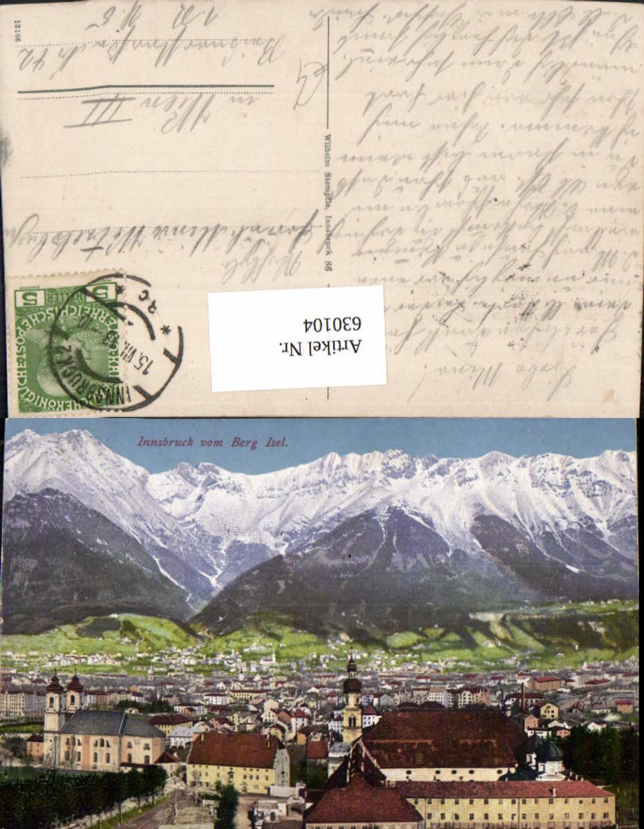 630104,Innsbruck mit Berg Isel günstig online kaufen