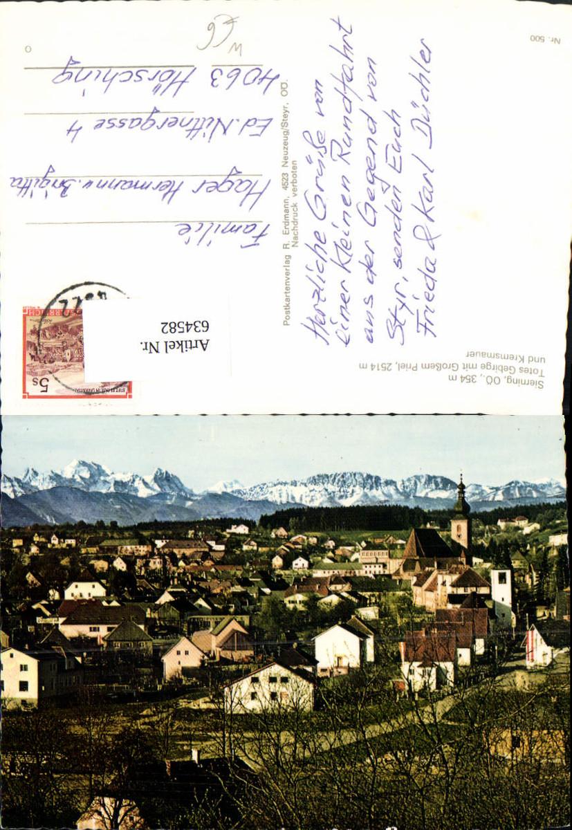 634582,Sierning Totes Gebirge m. Großem Priel u. Kremsmauer günstig online kaufen