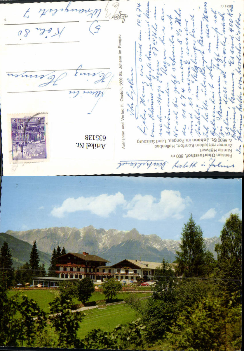 635138,St Johann i. Pongau Pension Oberforsthof günstig online kaufen