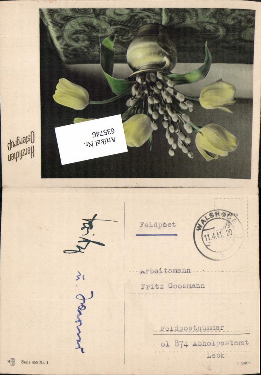 635746,WK 2 Feldpost Walsrode an FP ol 874 Abholpostamt Leck RAD Arbeitsmann günstig online kaufen