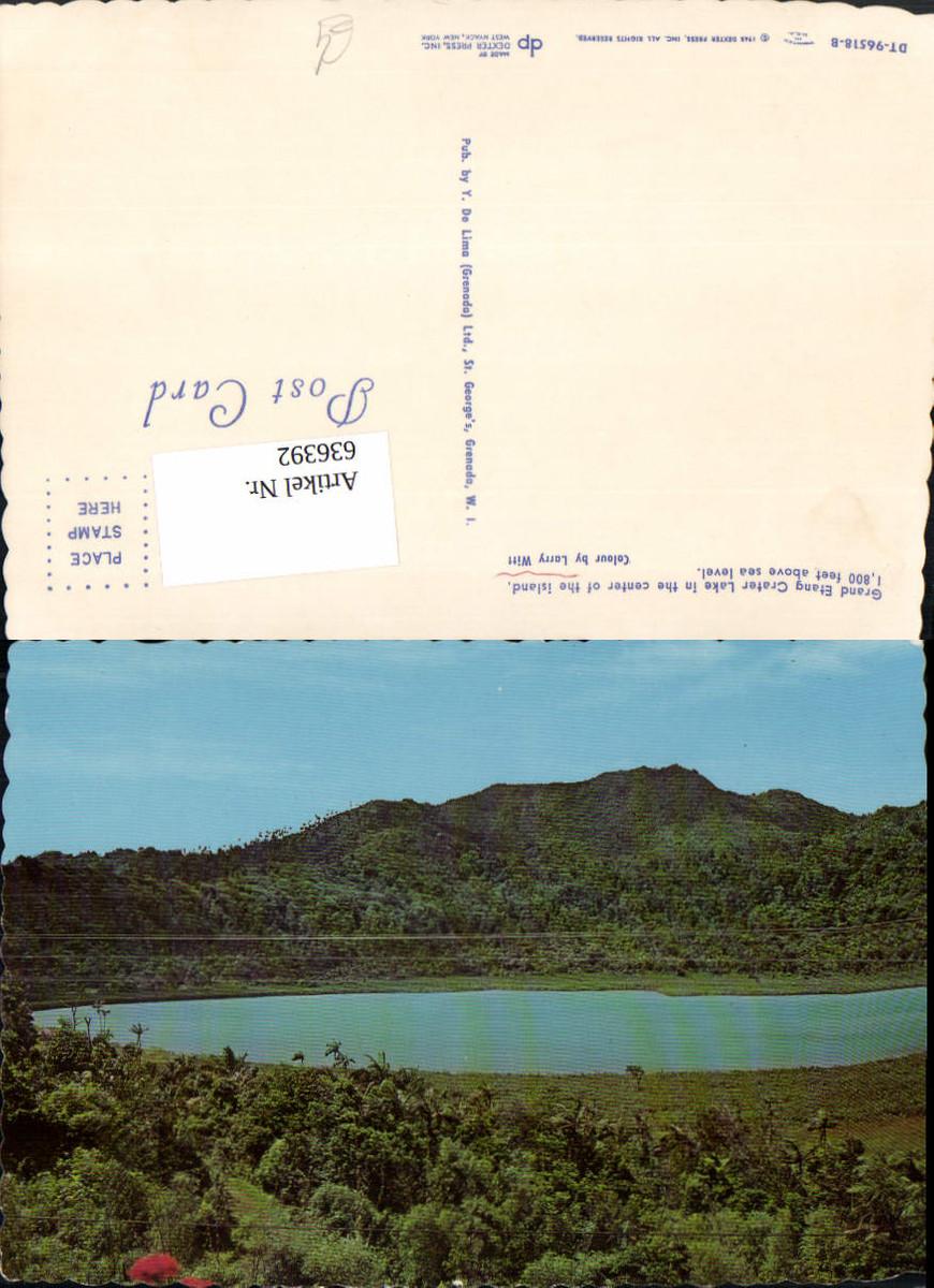 636392,St. George's Grand Etang Crater Lake in the center of the island Grenada günstig online kaufen