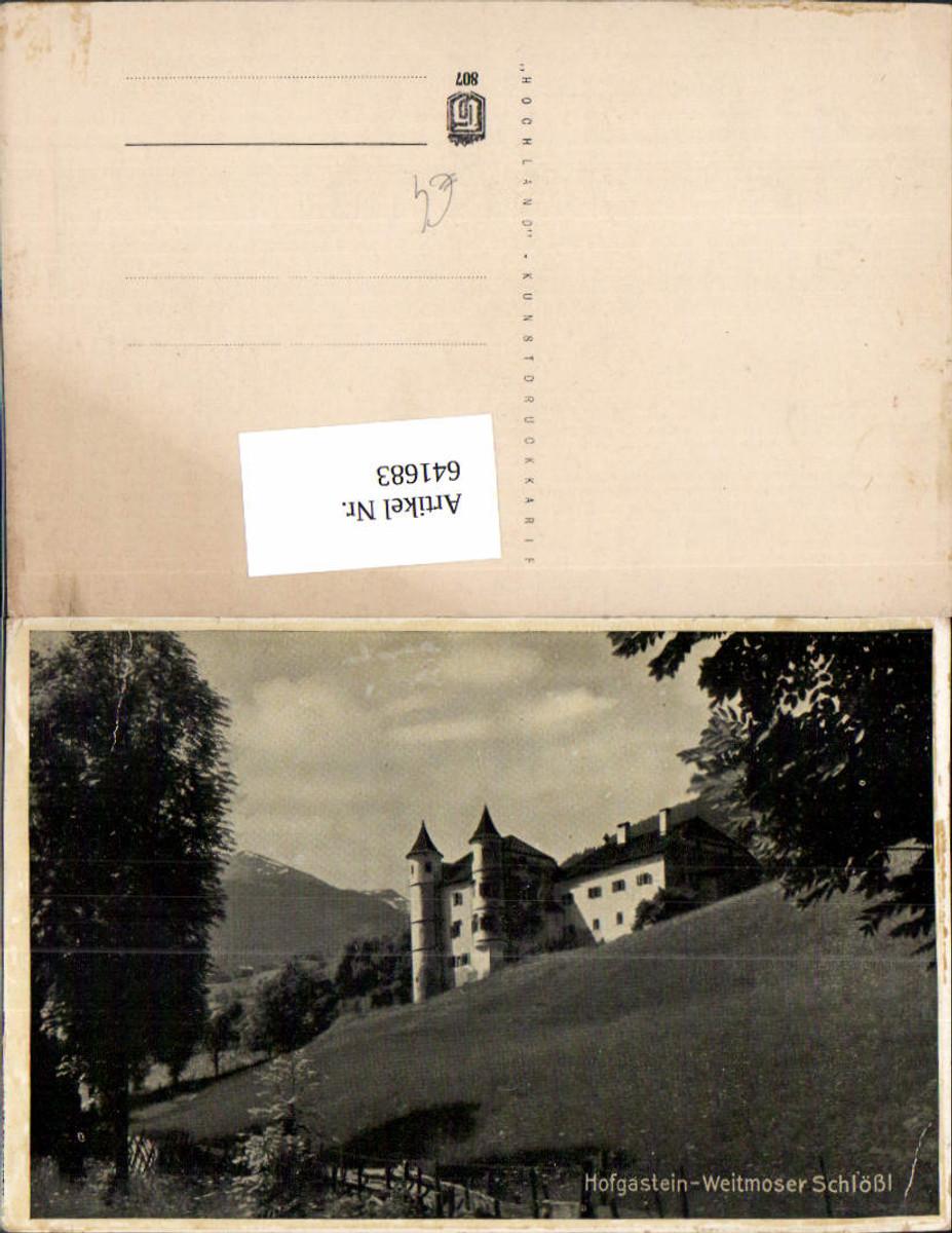 641683,Hofgastein Bad Hofgastein Weitmoser Schlößl günstig online kaufen