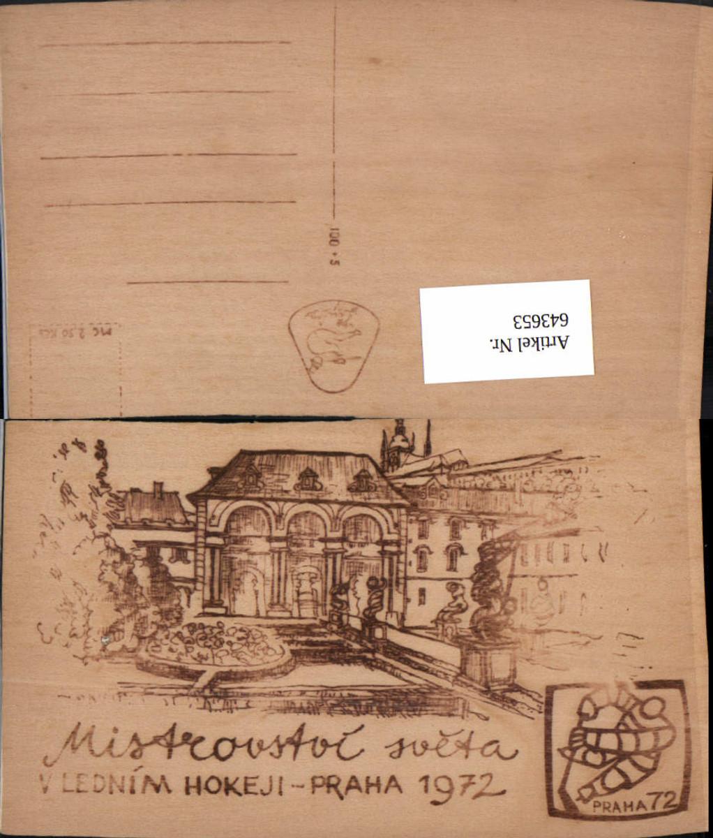 643653,Material AK Holzkarte Holz AK Prag Praha Mistrovstoi  günstig online kaufen
