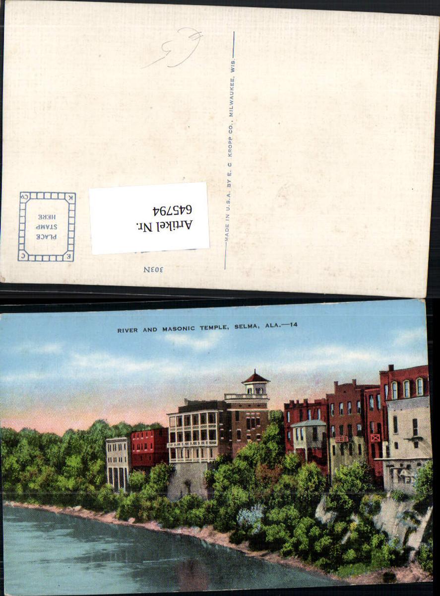 645794,Selma Alabama River and Masonic Temple günstig online kaufen