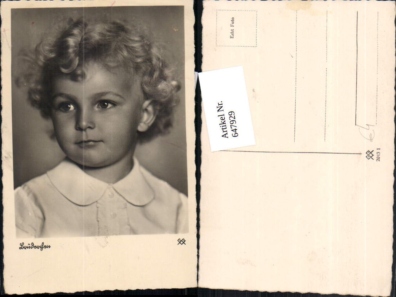 647929,Foto Ak Bub Junge Lockenkopf Brüderchen Portrait günstig online kaufen