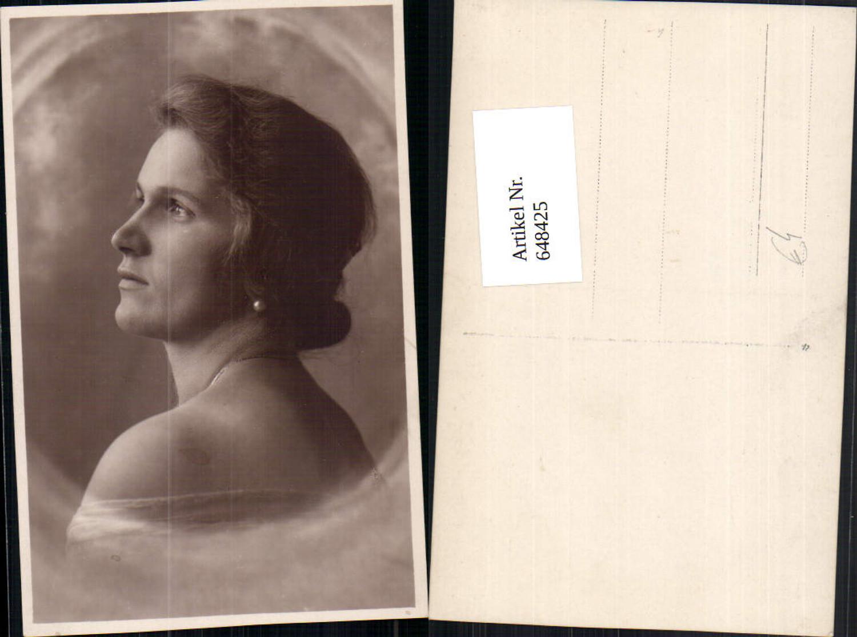 648425,Foto-AK Fotokunst Frau Portrait Ohrringe Schmuck Erotik günstig online kaufen